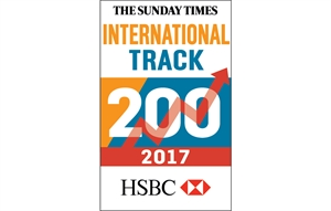 Cambridge Commodities Ranked 94th in The Sunday Times International Track 200
