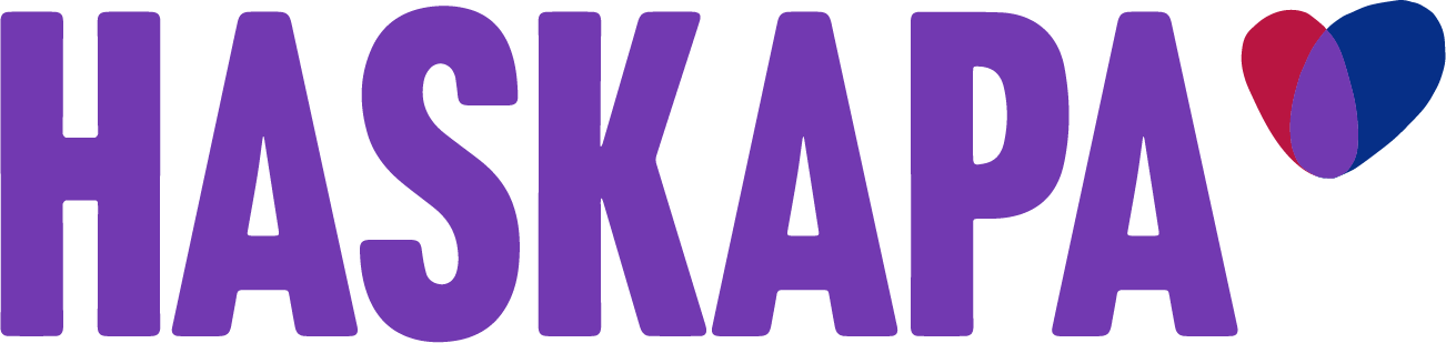 Haskapa logo on white background